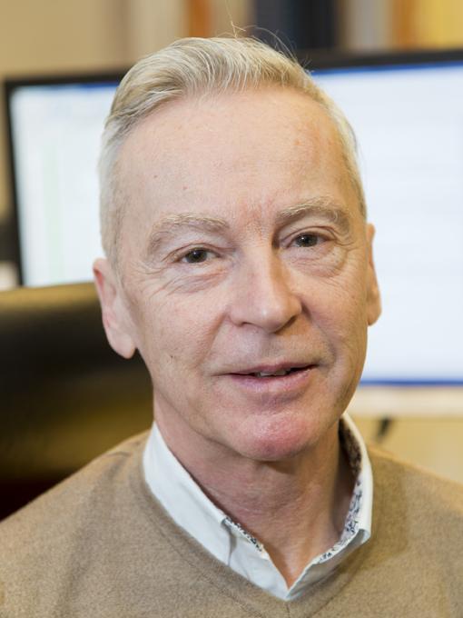 Berglunds Åkeris personal och administrations ansvarige Kalle Lorentzon