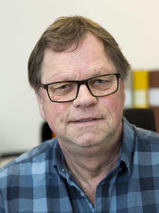 Berglunds Åkeris lageransvarige Ulf Broberg
