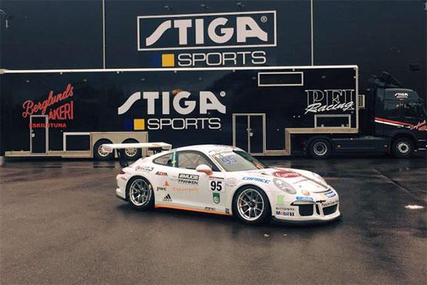 Porsche racing bil